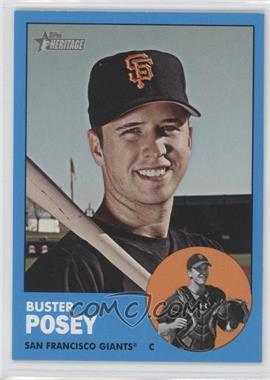 2012 Topps Heritage #85.3 - Buster Posey (Wal-Mart Blue Border)