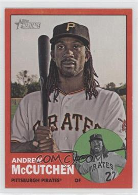 2012 Topps Heritage #87.2 - Andrew McCutchen (Target Red Border)