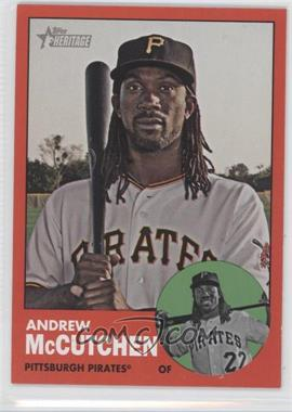 2012 Topps Heritage #87.3 - Andrew McCutchen (Target Red)