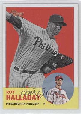 2012 Topps Heritage #91 - Roy Halladay