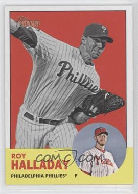 2012 Topps Heritage #91.2 - Roy Halladay
