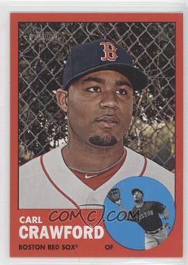 2012 Topps Heritage #96 - Carl Crawford (Target Red Variation)
