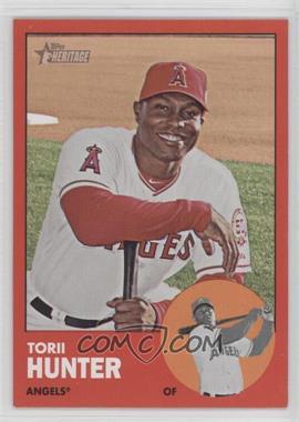 2012 Topps Heritage #98.2 - Torii Hunter (Target Red)