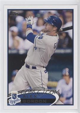 2012 Topps Kansas City Royals #KAN3 - Alex Gordon