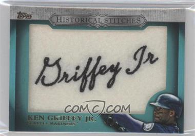 2012 Topps Manufactured Historical Stitches #HS-KG - Ken Griffey Jr.