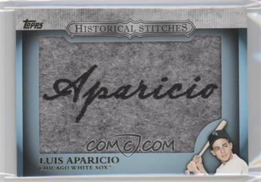 2012 Topps Manufactured Historical Stitches #HS-LA - Luis Aparicio