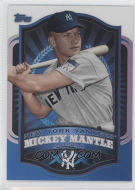 2012 Topps Mega Boxes Exclusive Chrome Refractors #MBC-1 - Mickey Mantle