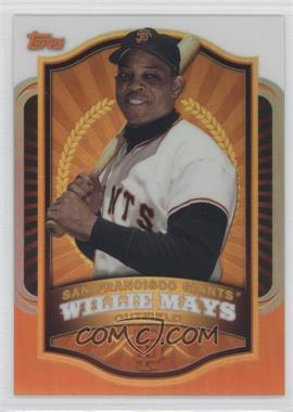 2012 Topps Mega Boxes Exclusive Chrome Refractors #MBC-2 - Willie Mays