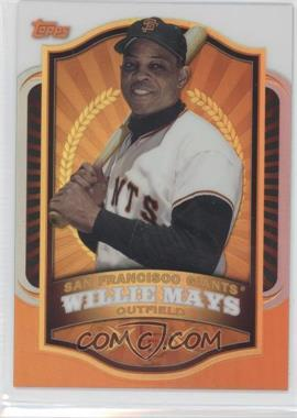 2012 Topps Mega Boxes Exclusive Chrome Refractors #MBC2 - Willie Mays