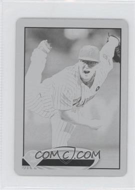 2012 Topps Mini - [Base] - Printing Plate Black #307 - Vance Worley /1