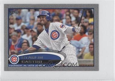 2012 Topps Mini - [Base] - Silver #167 - Starlin Castro /5