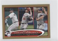 Justin Verlander, Jered Weaver, James Shields /61