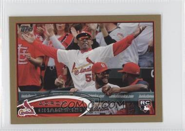 2012 Topps Mini Gold #90 - Adron Chambers /61