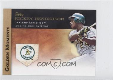 2012 Topps Mini Golden Moments #GM-41 - Rickey Henderson