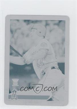 2012 Topps Mini Printing Plate Cyan #106 - Mark Trumbo /1