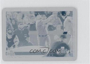 2012 Topps Mini Printing Plate Cyan #108 - Albert Pujols /1