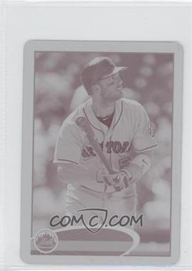 2012 Topps Mini Printing Plate Magenta #240 - David Wright /1