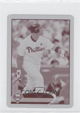 2012 Topps Mini Printing Plate Magenta #280 - Ryan Howard /1