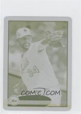 2012 Topps Mini Printing Plate Yellow #214 - Mike Pelfrey /1