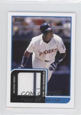 2012 Topps Mini Relics #MR-19 - Tony Gwynn