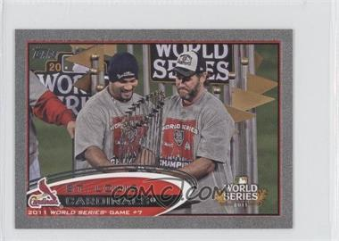 2012 Topps Mini Silver #53 - St. Louis Cardinals Team /5