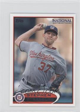 2012 Topps Minis National Convention National Convention [Base] #TMB3 - Stephen Strasburg