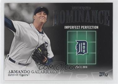 2012 Topps Mound Dominance #MD-10 - Armando Galarraga