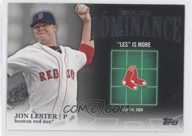 2012 Topps Mound Dominance #MD-13 - Jon Lester