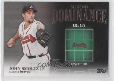 2012 Topps Mound Dominance #MD-14 - John Smoltz
