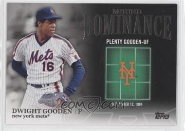 2012 Topps Mound Dominance #MD-15 - Dwight Gooden