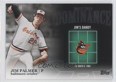 2012 Topps Mound Dominance #MD-4 - Jim Palmer