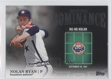 2012 Topps Mound Dominance #MD-8 - Nolan Ryan