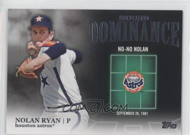 2012 Topps Mound Dominance #MD-8 - Nolan Ryan