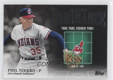 2012 Topps Mound Dominance #MD-9 - Phil Niekro