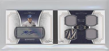 2012 Topps Museum Collection - Primary Pieces Quad Relics Autographs #PPAR-RB - Ryan Braun /10