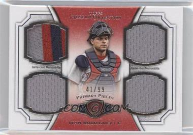 2012 Topps Museum Collection - Primary Pieces Quad Relics #PPQR-IR - Ivan Rodriguez /99
