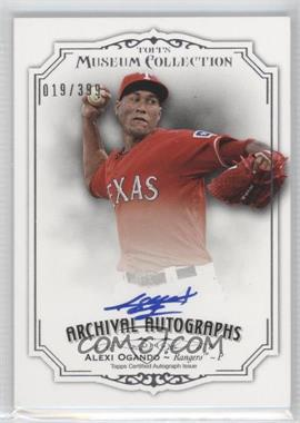 2012 Topps Museum Collection Archival Autographs [Autographed] #AA-A02 - Alexi Ogando /399