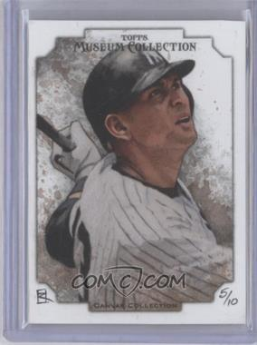 2012 Topps Museum Collection Canvas Collection Originals #CC-37 - Alex Rodriguez /10
