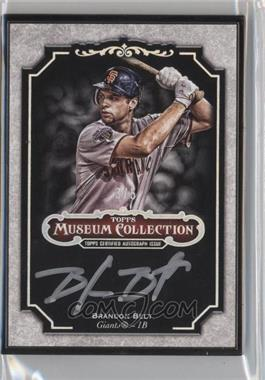 2012 Topps Museum Collection Framed Autographs Black #MCA-BB - Brandon Belt /5