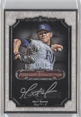 2012 Topps Museum Collection Framed Autographs Silver #MCA-MM - Matt Moore /10