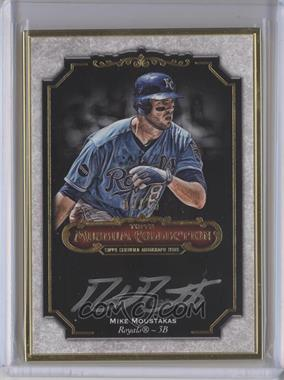 2012 Topps Museum Collection Framed On-Card Autographs Gold [Autographed] #MCA-MMO - Mike Moustakas /15