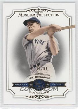 2012 Topps Museum Collection Gold #81 - Joe DiMaggio /99