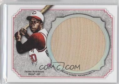 2012 Topps Museum Collection Jumbo Lumber Relics Silver Rainbow #MMJLR-FR - Frank Robinson /5