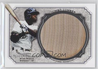 2012 Topps Museum Collection Jumbo Lumber Relics #MMJLR-NMO - Nyjer Morgan /30