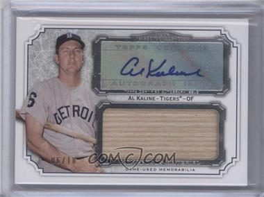 2012 Topps Museum Collection Momentous Material Jumbo Relic Autographs #MMJAR-AK - Al Kaline /10