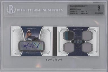 2012 Topps Museum Collection Primary Pieces Quad Relics Autographs #PPAR-MP - Michael Pineda /10 [BGS 9]
