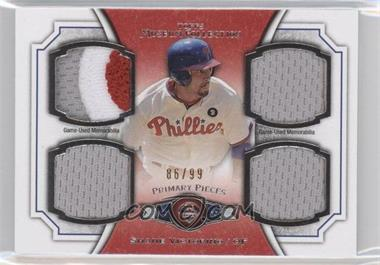 2012 Topps Museum Collection Primary Pieces Quad Relics #PPQR-SV - Shane Victorino /99
