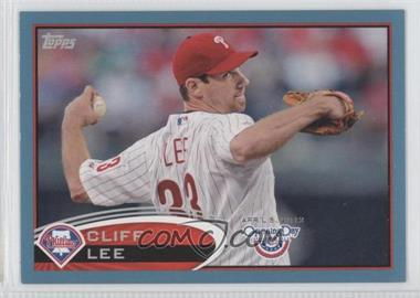2012 Topps Opening Day - [Base] - Blue #183 - Cliff Lee /2012