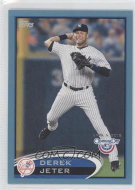 2012 Topps Opening Day - [Base] - Blue #90 - Derek Jeter /2012