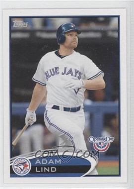 2012 Topps Opening Day - [Base] #57 - Adam Lind